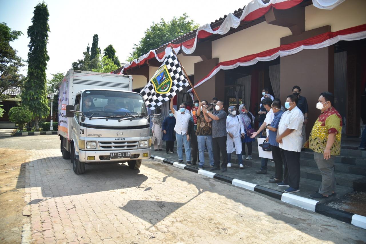 Kebumen Terima Bantuan 800 Paket Sembako dan 10 Ton Beras dari Passatu dan Dompet Dhuafa