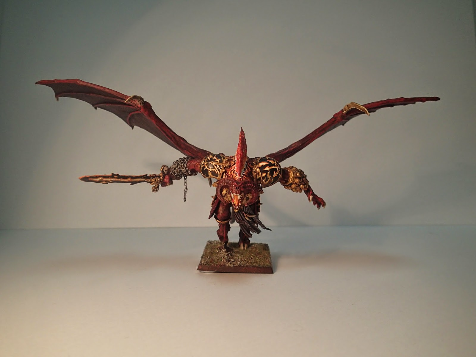 The Greater Army Of Khorne Converted Bloodthirster