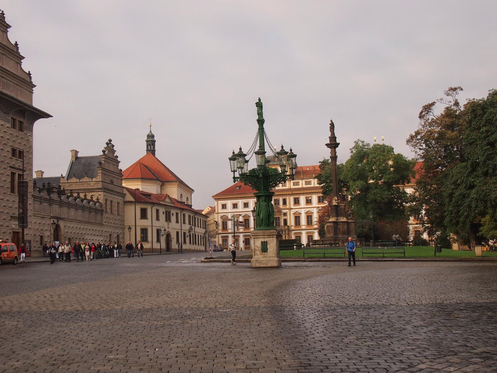 The Prague Castle Courtyard