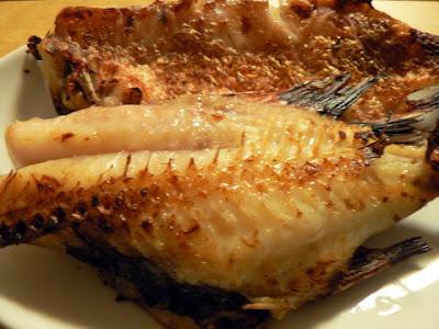 赤魚粕漬完成