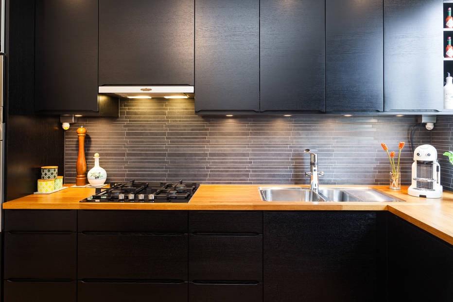 Ideas de revestimientos para las paredes de la cocina - Cocinas con ...