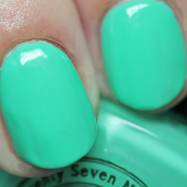 Seventy-Seven Nail Lacquer We're Mint To Be