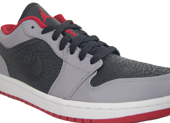 more photos f64ba 8885c ... coupon code for air jordan 1 retro low black gym red cement grey august  2013 bb0d4