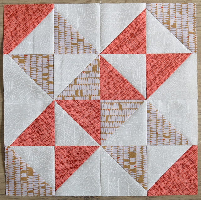 HST Quilt-Along - Block #11 - Starshine - Carolyn Friedlander fabrics
