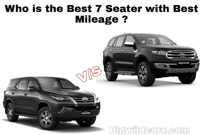 Best 2 SUV Cars with 7 Seater in 2020 with Excellent Features