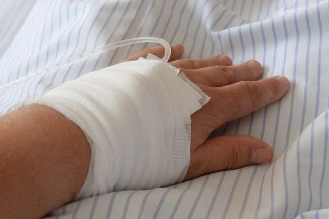 tangan di infus bengkak
