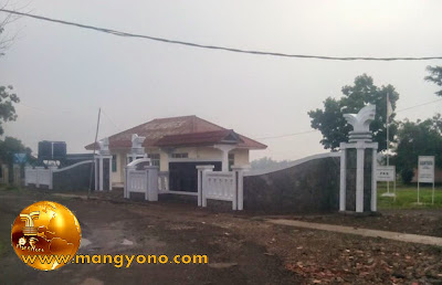 Kantor Desa Cihambulu, Kecamatan Pabuaran. Poto jepretan Mang Dawock - Facebooker Subang ( FBS )