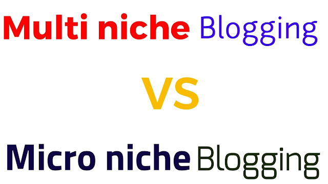 micro niche vs multi niche blogging in hindi-social updates
