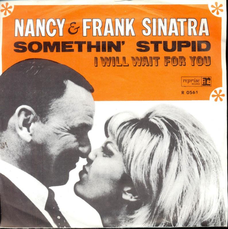 Resultado de imagen de Frank & Nancy Sinatra - Somethin' Stupid