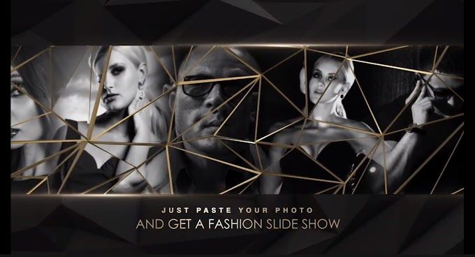 Gold Fashion Slideshow 7 - Project for After Effects