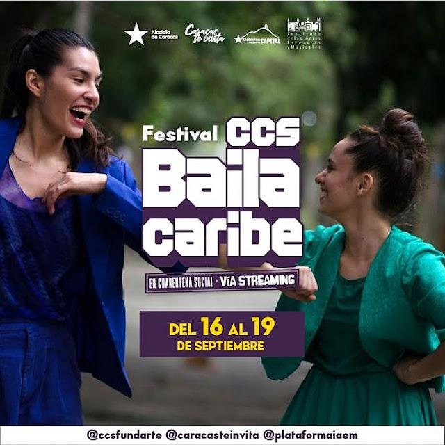 """Participarán en el Festival """"Caracas Baila Caribe Emergente 2020"""". Cinco agrupaciones de la danza escénica caraqueña, contemporánea y tradicional"""