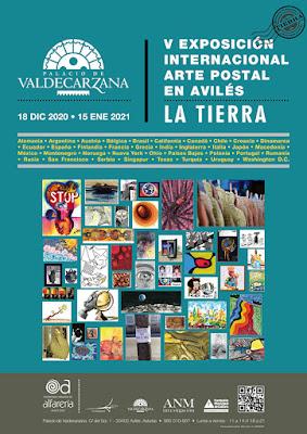cartel, arte postal, mail art, Avilés, exposición