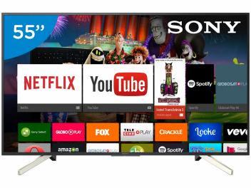 """Foto 1 - Smart TV LED 55"""" Sony 4K/Ultra HD KD-55X755F - Android Conversor Digital Wi-Fi 4 HDMI 3 USB de R$ 4.990,00 por R$ 3.229,05 à vista ou a prazo por R$ 3.399,00 em até 10x de R$ 339,90 sem juros no cartão de crédito (cód. magazineluiza 193397200) - Magazine Branicio uma loja autorizada MAGAZINE LUIZA. Para maiores informações ou compra acesse pelo link:  https://www.magazinevoce.com.br/magazinebranicio/p/smart-tv-led-55-sony-4kultra-hd-kd-55x755f-android-conversor-digital-wi-fi-4-hdmi-3-usb/327679/"""
