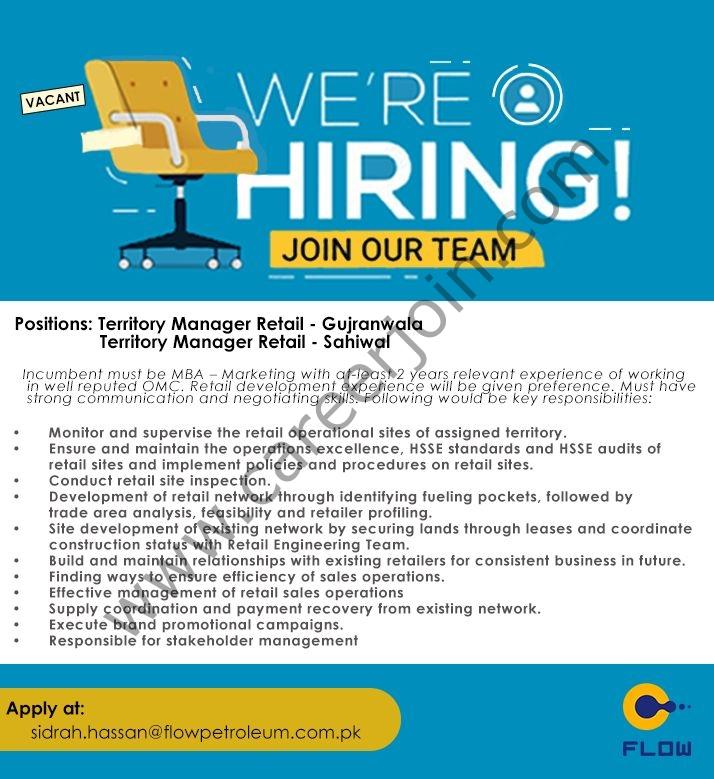 Flow Petroleum Limited Jobs October 2021