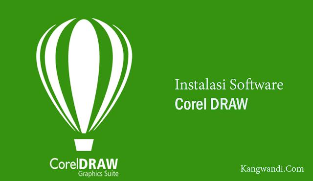 cara instal corel draw