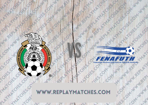 Mexico vs Honduras -Highlights 25 July 2021