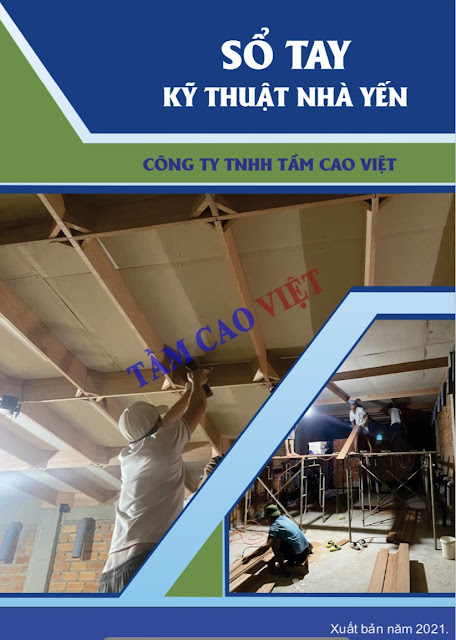 Quy trình xây nhà nuôi chim yến Tầm Cao Việt