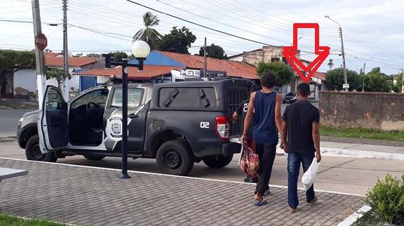 FLAGRANTE - Jovem é preso após dopar e estuprar menor em quadra