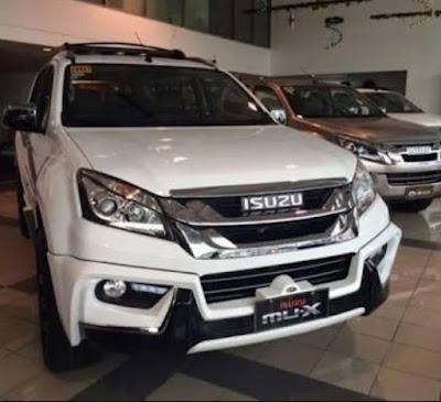 Mobil Isuzu MU-X