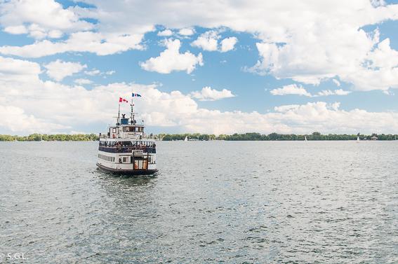 Ferry a Toronto Island