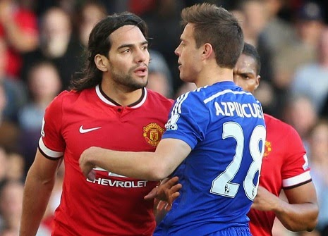 Radamel Falcao could be lining up alongside Chelsea players next term