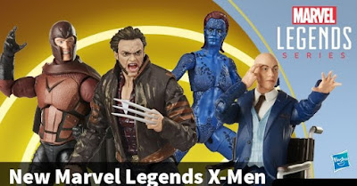 X-Men Movie Marvel Legends Action Figure Series by Hasbro