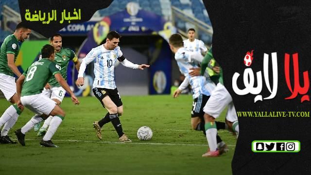 بوليفيا 1-4 الأرجنتين: تقييمات لاعبي الارجنتين