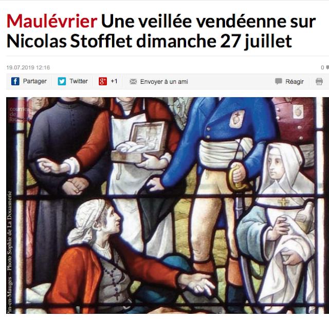 https://www.courrierdelouest.fr/actualite/maulevrier-une-veillee-vendeenne-sur-nicolas-stofflet-dimanche-27-juillet-19-07-2019-407379