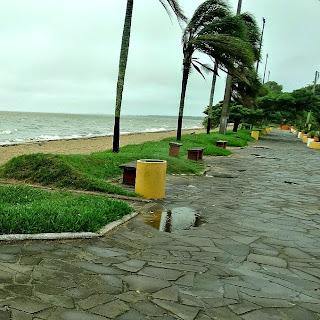 Praia do Calçadão, em Arambaré