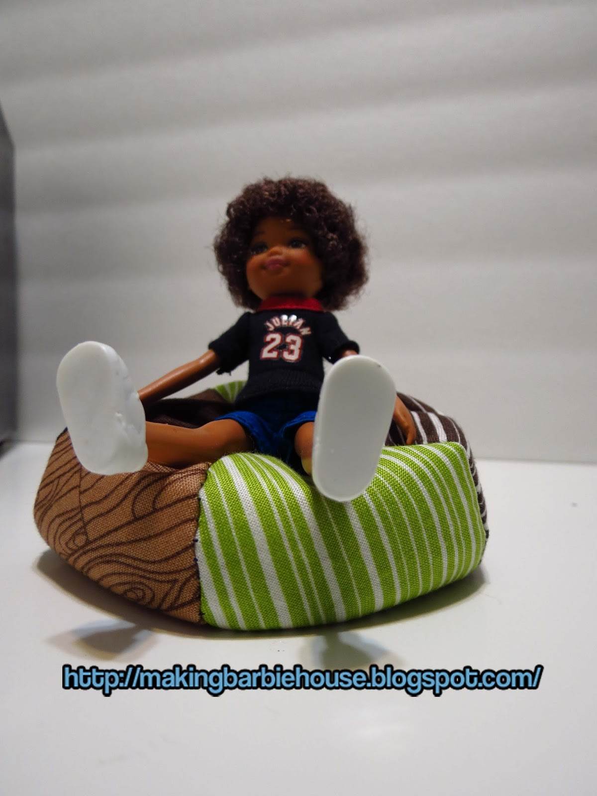 how to make bean bag chair beach chairs at target making a modern barbie house