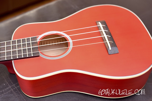Kamoa E3-GC Ukulele body