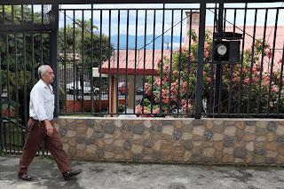man in Santiago de Puriscal