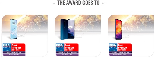 EISA Awards 2019