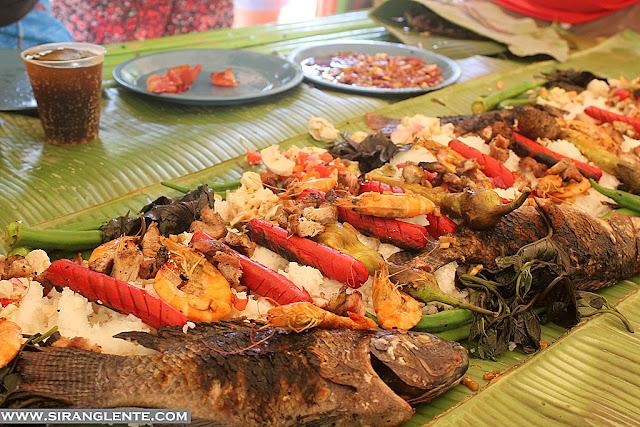 Nilandingan Cove Food menu
