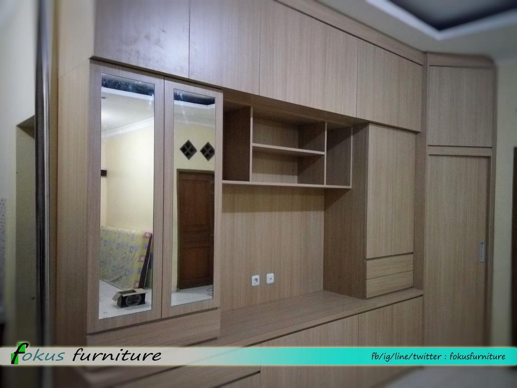 Lemari kabinet tv di mekarsari cimanggis depok for Lemari kitchen
