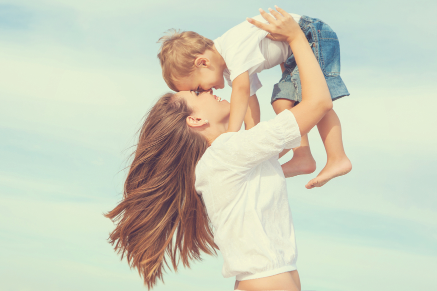 Maman heureuse
