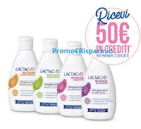 Logo Lactacyd ti premia : 50€ di crediti per prenderti cura di te ( premio certo)