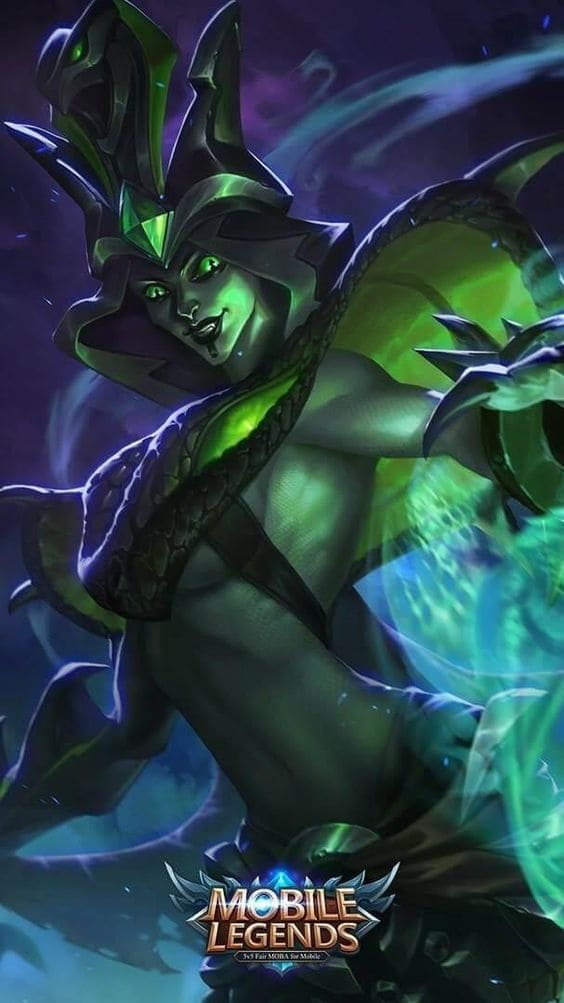 Wallpaper Vexana Toxic Kiss Skin Mobile Legends HD for Android and iOS