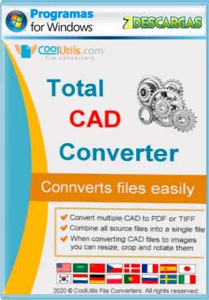 Total CAD Converter (2021) (Multilenguaje) Español