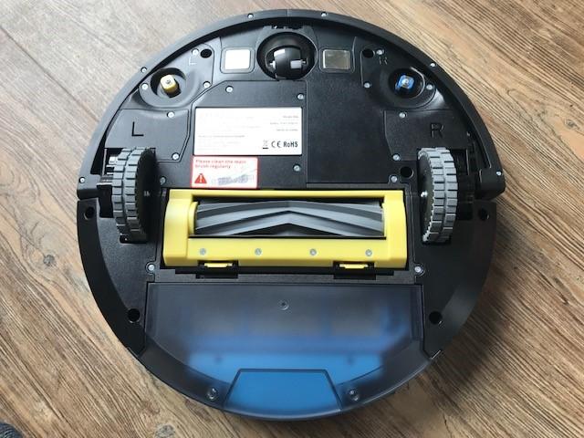 ZACO A9s - Saugroboter mit Wischfunktion von unten