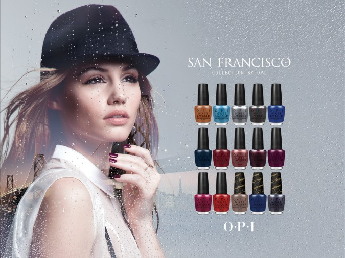 opi collection vernis automne 2013 san francisco