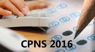 Pendaftaran Rekrutmen CPNS 2016