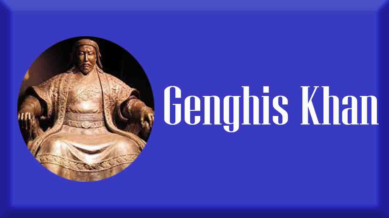 Who_was_advised_Genghis_Khan_in_political_matters