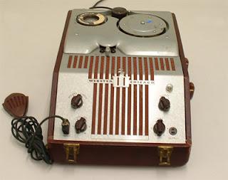 fotografia de um gravador de fio