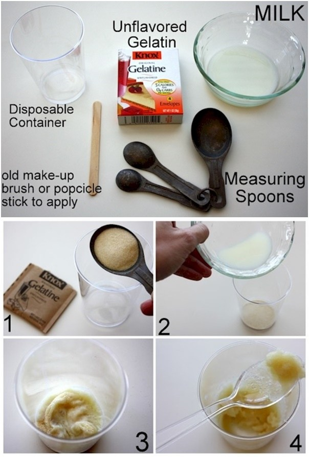DIY Blackhead Removal Pore Strips With Only Two Ingredients