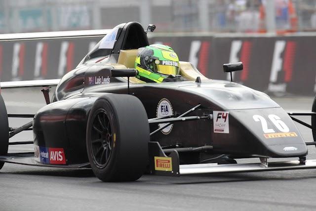 Fórmula 4 NACAM repetirá como categoría preliminar al GP de México