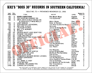 KHJ Boss 30 No. 73 - November 23, 1966