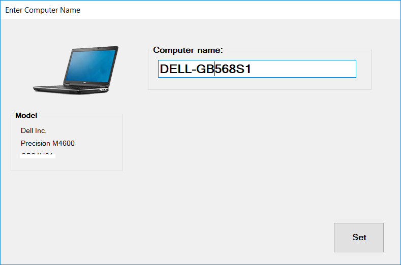 Powershell on Crack: OSD Computer Name Prompt