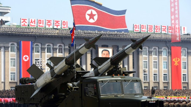 Северная Корея выпускает ракеты малой дальности в море