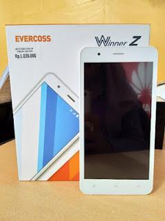 Cara Flash Evercoss Z6 Winner Z Extra Sukses Tnpa Kendala